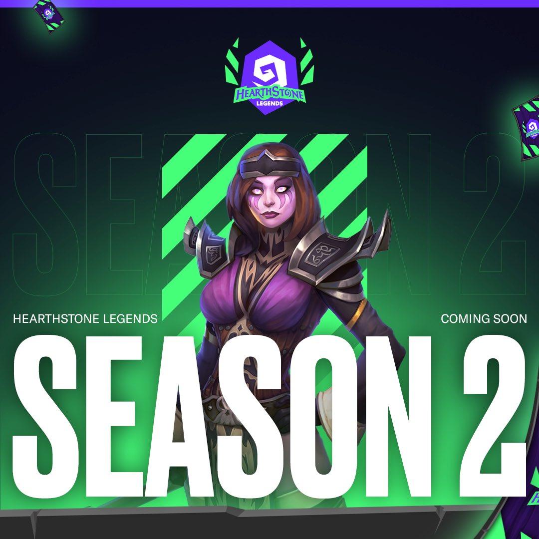 Το Hearthstone Legends επιστρέφει για τη Season 2