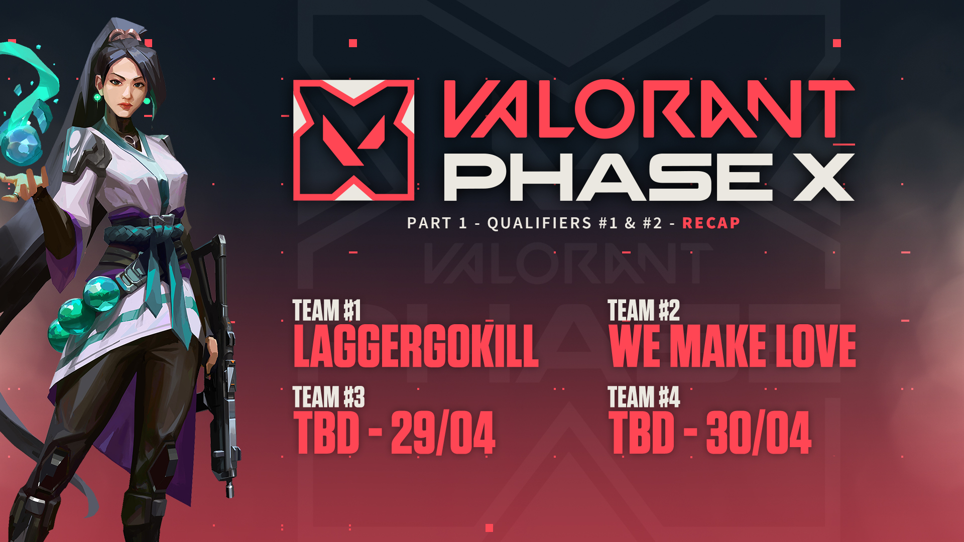 VALORANT LEGENDS Phase X Part #1 – Qualifiers #1-2 Recap